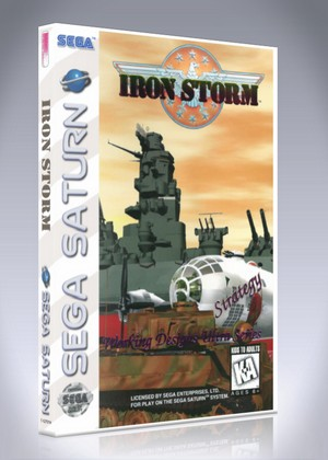 Iron Storm Retro Game Cases