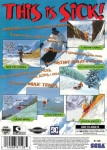 Sega Saturn - Steep Slope Sliders (back)