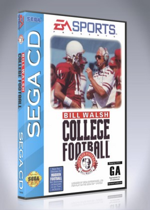 Bill Walsh College Football Retro Game Cases