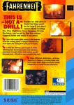 Sega CD 32X - Fahrenheit (Blue/Yellow) (back)