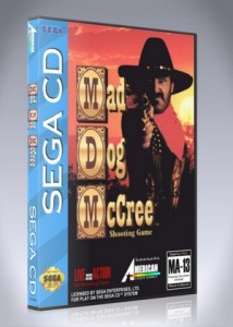 Sega CD - Mad Dog McCree