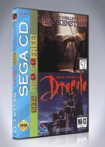 Sega CD - Mary Shelley's Frankenstein | Bram Stoker's Dracula