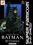Super Famicom - Batman Returns (front)