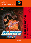Super Famicom - Darius Twin (front)