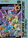 Super Famicom - Rockman X3 (front)