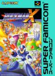 Super Famicom - Rockman X (front)