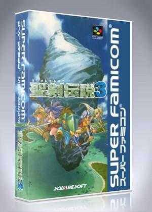 Super Famicom - Seiken Densetsu 3