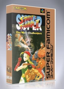 Super Famicom - Super Street Fighter II: The New Challengers
