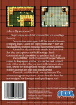 Master System - Alien Syndrome (back)