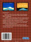 Sega Master System - Out Run (back)