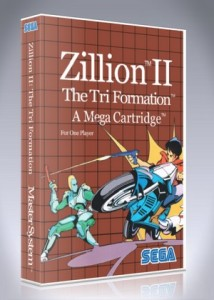 Master System - Zillion II: The Tri Formation