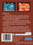Master System - Zillion II: The Tri Formation (back)