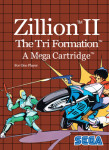 Master System - Zillion II: The Tri Formation (front)