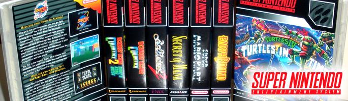 SNES Custom Game Cases
