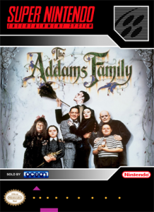 SNES - Addams Family (front)