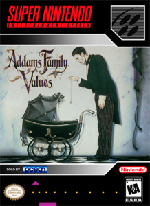 SNES - Addams Family Values (front)