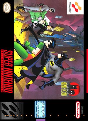 SNES - Adventures of Batman & Robin, The (front)