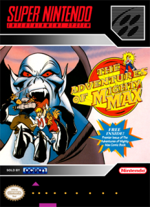 SNES - Adventures of Mighty Max, The (front)