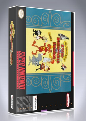 SNES - Adventures of Rocky and Bullwinkle and Friends, The