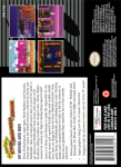 SNES - Adventures of Rocky and Bullwinkle and Friends, The (back)