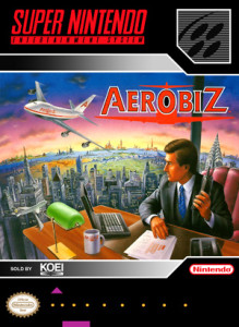 SNES - Aerobiz (front)