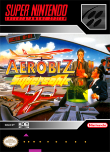 SNES - Aerobiz Supersonic (front)