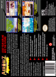 SNES - Aerobiz Supersonic (back)