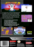 SNES - Aero The Acrobat 2 (back)