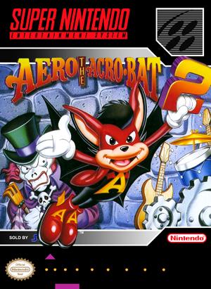 SNES - Aero The Acrobat 2 (front)