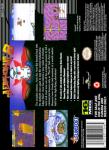 SNES - Aero the Acrobat 2 (back)
