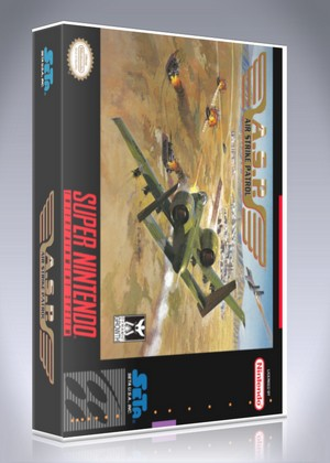 SNES - A.S.P. Air Strike Patrol