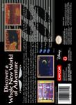 SNES - Aladdin (back)