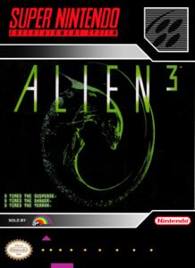 SNES - Alien 3 (front)