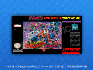 SNES - Amazing Spider-Man: Lethal Foes