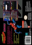 SNES - Amazing Spider-Man: Lethal Foes (back)