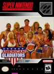 SNES - American Gladiators (front)