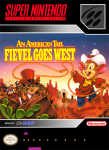 SNES - An American Tail: Fievel Goes West (front)