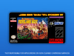 SNES - An American Tail: Fievel Goes West Label