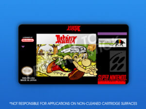 SNES - Asterix Label