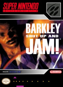 SNES - Barkley Shut Up and Jam! (front)