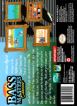 SNES - Bass Masters Classic (back)