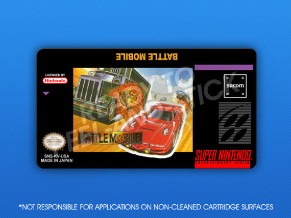 SNES - Battle Mobile Label