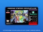 SNES - Battletoads / Double Dragon Label