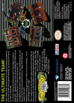 SNES - Battletoads Double Dragon (back)