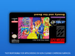 SNES - Beauty and the Beast Label
