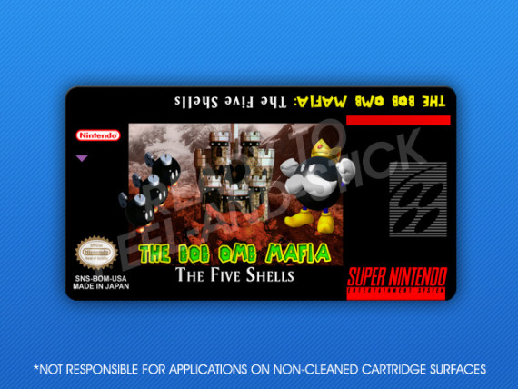 SNES - Bob Omb Mafia: The Five Shells