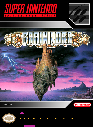 SNES - Brain Lord (front)