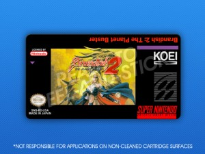 SNES - Brandish 2: The Planet Buster