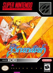 SNES - Brandish (front)