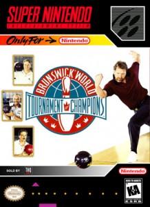 SNES - Brunswick World Tournament Champions (front)
